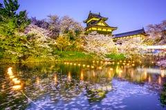 Замок в Nara, Японии Стоковые Фотографии RF