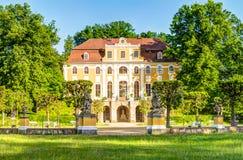 Замок в Neschwitz, Германии Стоковые Изображения RF