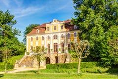 Замок в Neschwitz, Германии Стоковые Фотографии RF