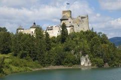 Замок в Niedzica Стоковые Изображения