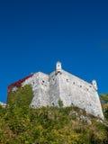 Замок в Pieskowa Skala Стоковые Изображения