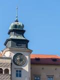 Замок в Pieskowa Skala Стоковое Изображение RF