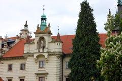 Замок в Pruhonice, чехии Стоковые Фото