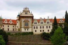Замок в Pruhonice, чехии Стоковые Изображения