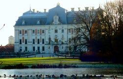 Замок в Pszczyna стоковые изображения