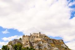 Замок в Roccella Ionica Стоковые Изображения