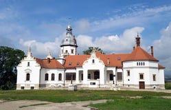 Замок в Sancrai, Трансильвании Стоковые Фотографии RF