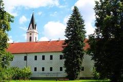 Замок в TÅ™eboň, чехии Стоковые Фотографии RF