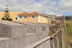 Замок в Terceira, Азорских островах стоковые фотографии rf