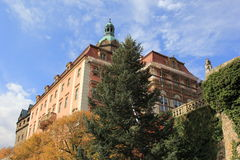 Замок в Walbrzych-Ksiaz Стоковая Фотография RF