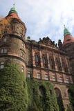 Замок в Walbrzych-Ksiaz Стоковое Изображение RF