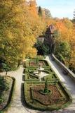 Замок в Walbrzych-Ksiaz Стоковая Фотография