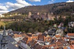 Замок Германия Гейдельберга Стоковое фото RF