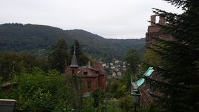 замок Германия heidelberg Стоковое Изображение RF