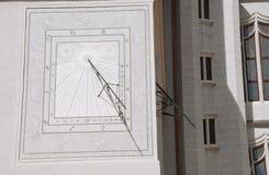 замок Германия meissen sundial Стоковая Фотография