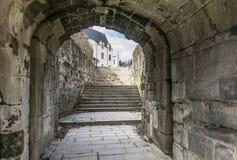 Замок герцогов входа альтернативы Бретани Стоковые Фотографии RF