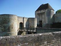 замок герцогская Франция замока caen Стоковое Фото