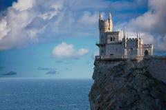 Замок гнездя ласточки Стоковые Изображения
