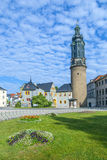 Замок города Weimar в Германии стоковое изображение rf