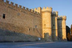 Замок городища Стоковое Изображение RF