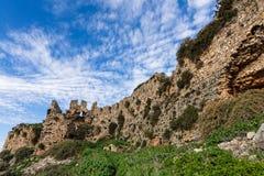 замок Греция стоковое фото rf