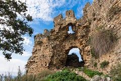 замок Греция стоковое фото