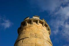 Замок губит башню Стоковые Фото