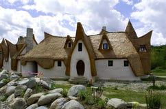 Замок глины, Fairy долина, Румыния - 8 могут 2016 Стоковые Изображения RF