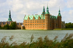 замок Дания frederiksborg Стоковая Фотография
