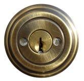 замок двери внутренний Стоковые Изображения RF