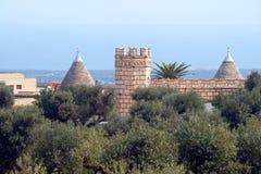 замок домашняя Италия puglia традиционный Стоковое фото RF