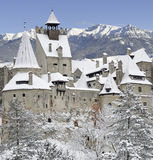 замок Дракула Румыния s transylvania отрубей Стоковые Изображения RF