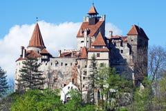Замок Дракула в отрубях, Трансильвании, Brasov, Румынии стоковая фотография rf