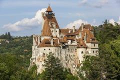Замок Дракула в отрубях Стоковые Фотографии RF