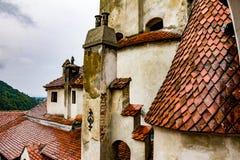 Замок Дракула в Румынии & x28; Bran& x29; Стоковые Изображения RF