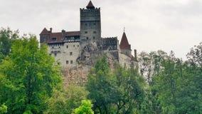 Замок Дракула жуткий Стоковая Фотография RF