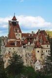 Замок Дракула - замок отрубей, Румыния Стоковое Изображение