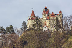 Замок Дракула, отруби, Румыния Стоковое Фото