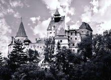 замок Дракула s отрубей Стоковая Фотография