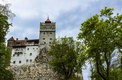 замок Дракула s Стоковое Изображение