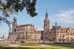 Замок Дрездена Стоковые Изображения