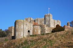 Замок Дувра в Англии Стоковая Фотография RF