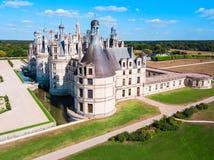 Замок Замка de Chambord, Франция стоковое изображение