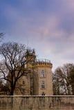 Замок за стеной Стоковые Фото