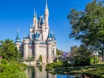 Замок Золушкы, волшебное королевство Стоковая Фотография
