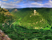 замок Израиль monfort Стоковые Фото
