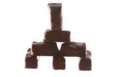 Замок или дом конфеты шоколада Стоковые Фотографии RF