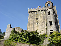 замок Ирландия лести Стоковое Изображение
