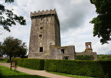 замок Ирландия лести Стоковые Фотографии RF