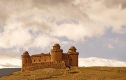 замок Испания calahorra стоковое фото